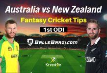 AUS vs NZ 1st ODI Dream11 Prediction