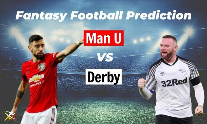 DER vs MUN Dream11 Prediction 2020
