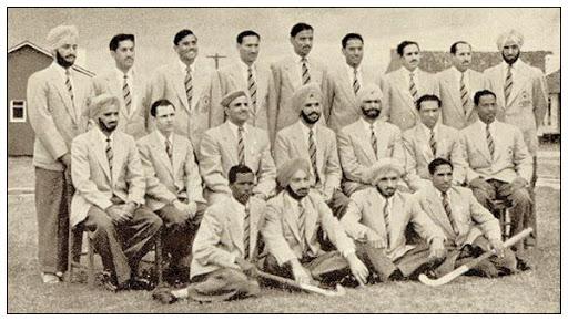 1956 Indian Hockey team KreedOn