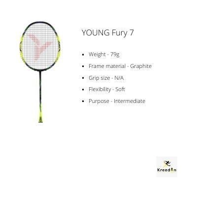 YOUNG rackets kreedon