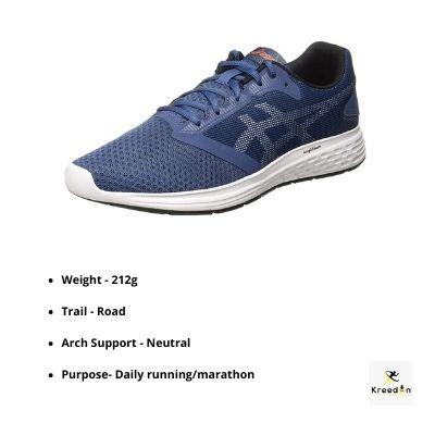 Asics patriot kreedon running shoes