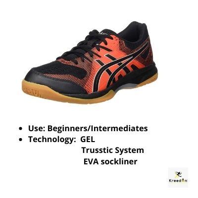 Asics badminton shoes for men Kreedon