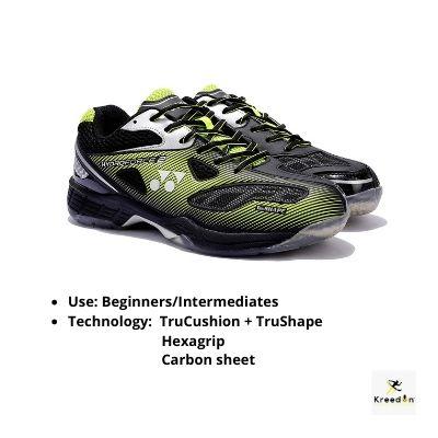 Yonex badminton shoes for men kreedon
