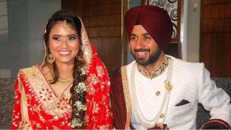 Manpreet Singh wife illi siddique