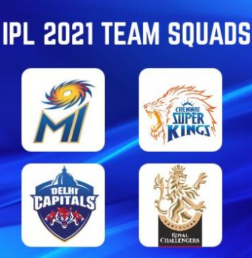 IPL 2021 players list