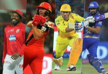 Most sixes in ipl, KreedOn