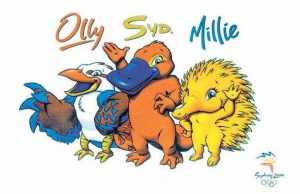 Syd, Olly and Millie Olympic Mascots KreedOn