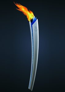 Olympic torch KreedOn