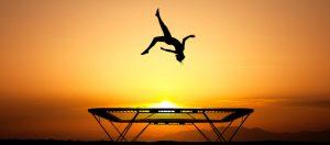 Trampoline gymnastics KreedOn