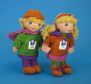 Hakon and Kristin Olympic Mascots KreedOn