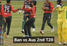 Ban vs Aus 2nd t20 dream11 prediction KreedOn
