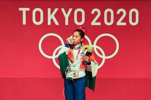 indian olympic medal winners Mirabai Chanu KreedOn