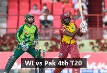 WI vs Pak 4th T20 dream11 prediction KreedOn