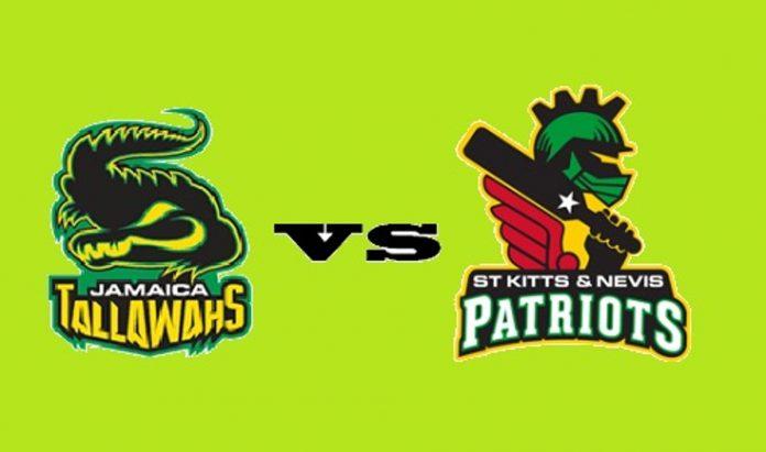St. Kitts & Nevis Patriots vs Jamaica Tallawahs Match 21  Dream11 Prediction