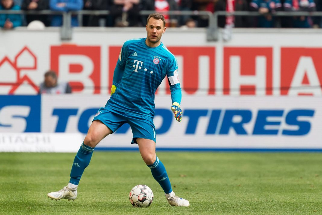 Manuel Neuer   best goal keeper in the world   KreedOn