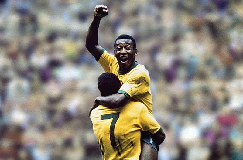 Pele - highest goal scorer in international football history most goals in football | KreedOn